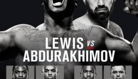 UFC Fight Night Albany Results: Lewis vs. Abdurakhimov