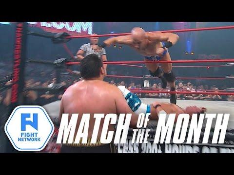 AJ Styles vs. Samoa Joe vs. Christopher Daniels from Turning Point 2009   Match of the Month