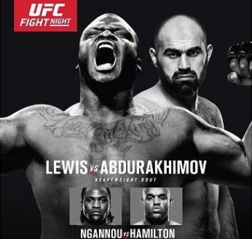 UFC Fight Night: Lewis vs. Abdurakhimov LIVE Friday at 9 p.m. ET on Fight Network