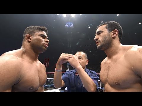 Badr Hari vs. Alistair Overeem 2 at K-1 World Grand Prix 2009 Final from Dec. 5, 2009