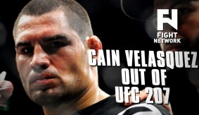 Cain Velasquez Out of UFC 207 After NSAC Declares Him 'Unfit to Fight'