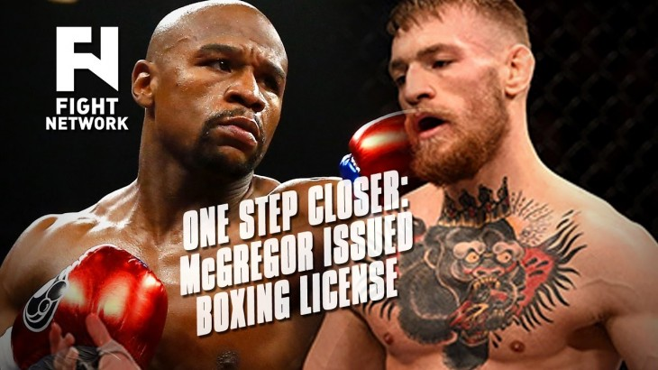 Conor McGregor Issued Boxing License in California – McGregor vs. Mayweather?