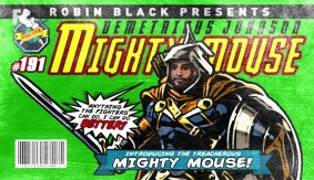 "Demetrious ""Mighty Mouse"" Johnson is The Taskmaster 