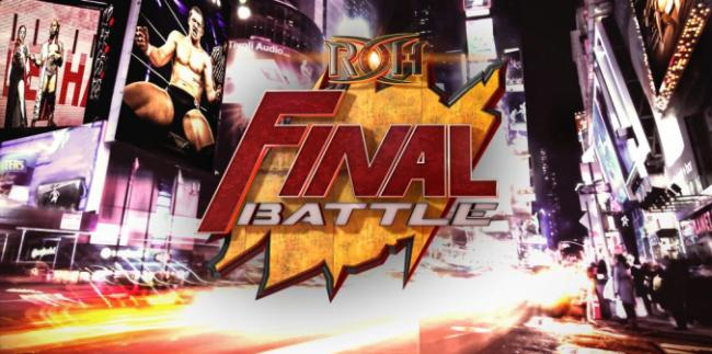 ROH Final Battle 2016 Report – Kyle O'Reilly Wins ROH Title, Matt Hardy Appears