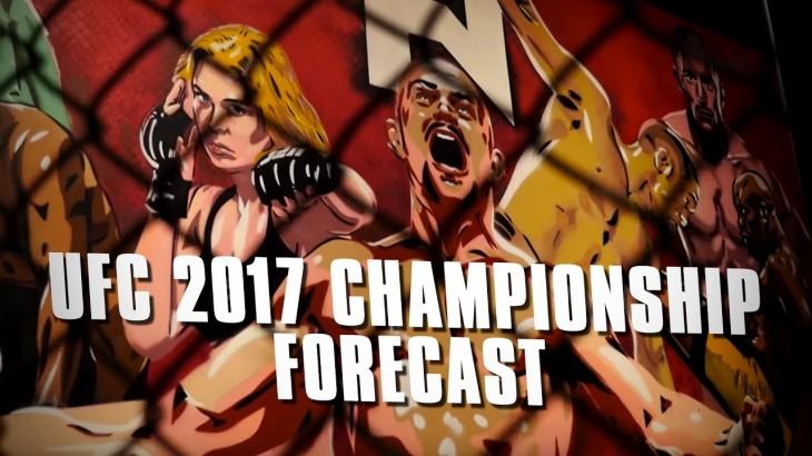 Fight Network's 2017 UFC Championship Forecast w/ John Pollock, John Ramdeen & Robin Black