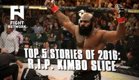 Fight Network's Top 5 Stories of the Year for 2016 –  2. R.I.P. Kimbo Slice