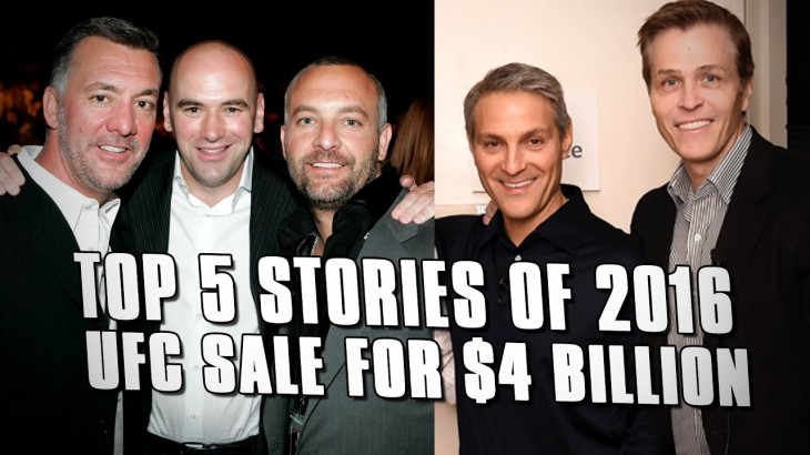 Fight Network's Top 5 Stories of 2016 – 1. UFC Sale