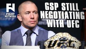 Georges St-Pierre Still Negotiating Return with UFC