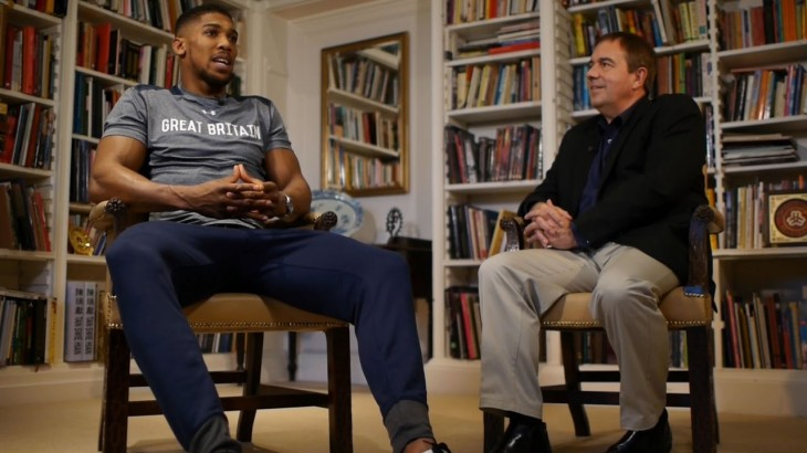 IBF Heavyweight Champ Anthony Joshua on Boxing Career and Fame