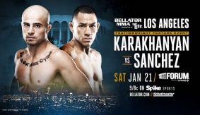 Georgi Karakhanyan vs. Emmanuel Sanchez Added to Bellator 170 on Jan. 21 in Los Angeles