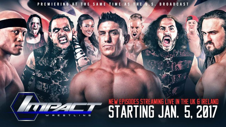 Anthem Launches TNA IMPACT Wrestling App Across U.K. and Ireland