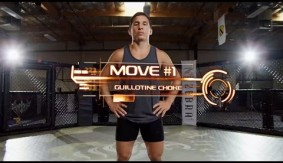Joseph Benavidez Teaches Arm-Trap Guillotine, Right Hook Counter & Body Rip to Over Hook