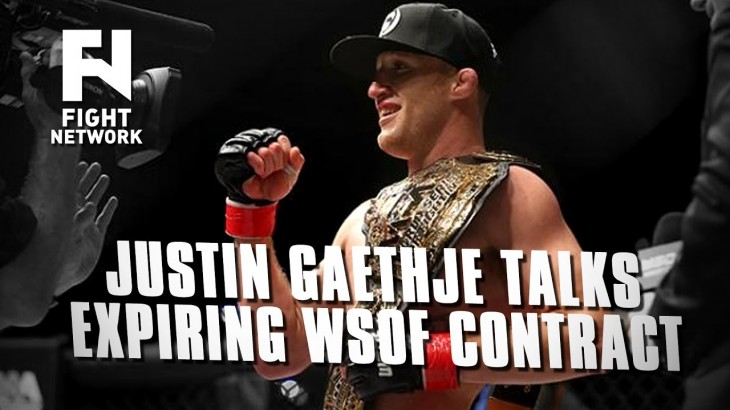 """Justin Gaethje on Expiring WSOF Contract – """"I'm a Promoter's Dream"""""""