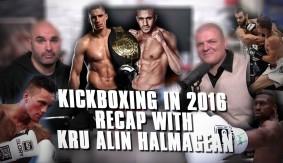 Kickboxing in 2016 Recap with Kru Alin Halmagean: Rico Verhoeven vs. Badr Hari, Matt Embree's Year & More