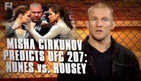Misha Cirkunov Predicts UFC 207: Amanda Nunes vs. Ronda Rousey