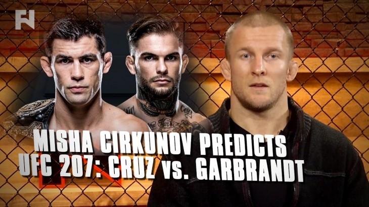 Misha Cirkunov Predicts UFC 207: Dominick Cruz vs. Cody Garbrandt