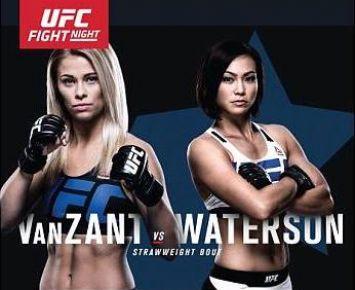 MMA_Poster_UFConFOX_PaigeVanZant_MichelleWaterson