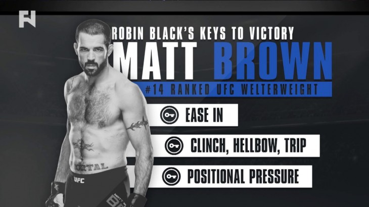 Robin Black's Keys to Victory – UFC 206: Matt Brown