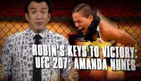 Robin's Breakdown: Keys to Victory – UFC 207: Amanda Nunes