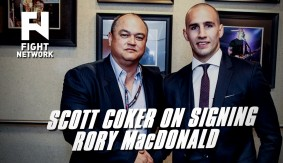 Scott Coker Discusses Bellator's Plans for Rory MacDonald & Canadian Market