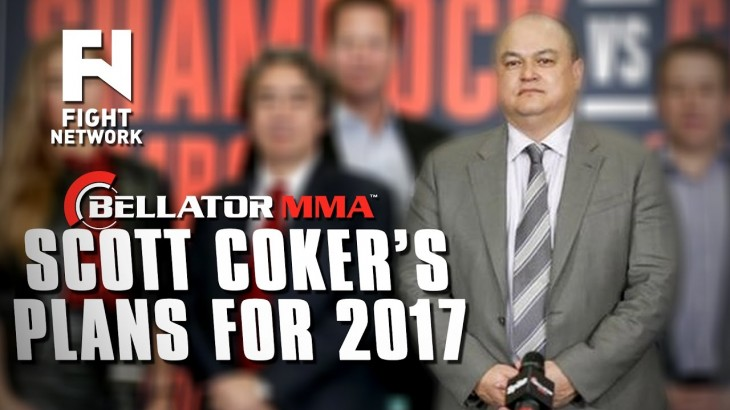 "Scott Coker's Plans for Bellator in 2017 – ""Int'l Expansion Was One of the Main Goals for '16"""