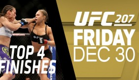 Top 4 Finishes from Ronda Rousey & Amanda Nunes – UFC 207