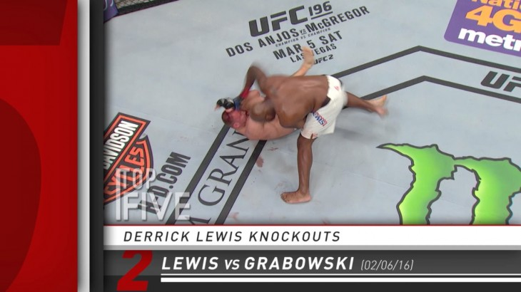 Top 5 – Derrick Lewis Knockouts in the UFC