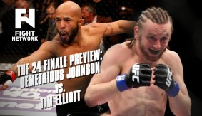 "TUF 24 Finale Preview: Demetrious ""Mighty Mouse"" Johnson vs. Tim Elliott"