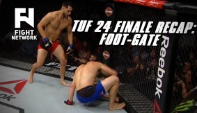 TUF 24 Finale Recap: Jorge Masvidal Wins by TKO After Jake Ellenberger's Foot Caught in Cage