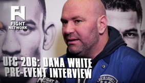 UFC 206: Dana White Pre-Event Interview on Pettis Missing Weight, GSP, Joe Rogan & Plans for 2017