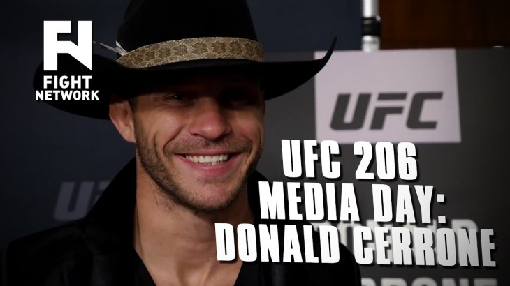 UFC 206: Donald Cerrone on Matt Brown –  He's 'Trying to Get into My Head'