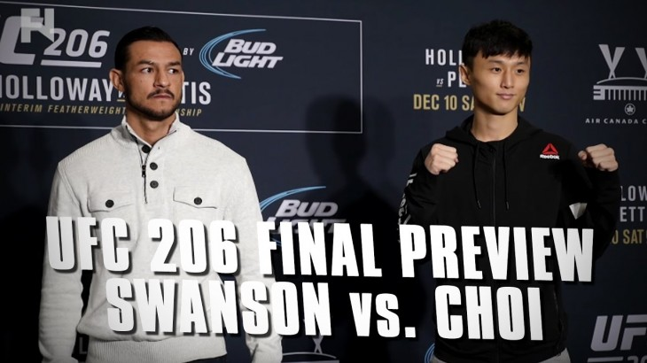UFC 206 Final Preview: Cub Swanson vs. Dooho Choi – Robin's Got Seoul