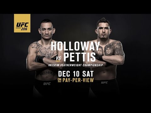 UFC 206: Holloway vs. Pettis – Extended Preview