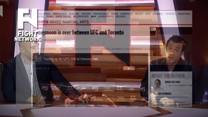 UFC 206: John Ramdeen & Robin Black Respond to Toronto Sun Criticism