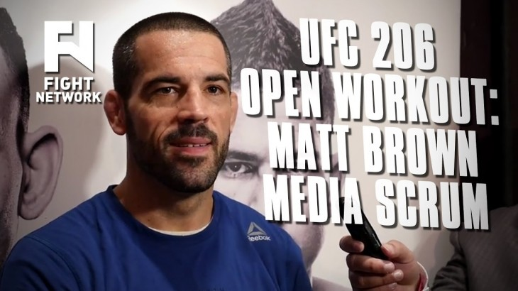 UFC 206: Matt Brown Talks About Going to Jail His Last Time in Canada & More