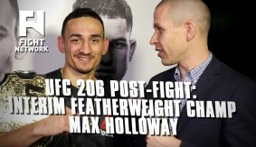"UFC 206: Max Holloway on Title Win – ""A Star Was Going to Be Born Tonight"""