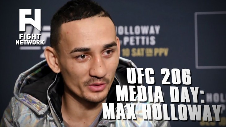UFC 206: Max Holloway Will Talk About His Accomplishments When He Retires