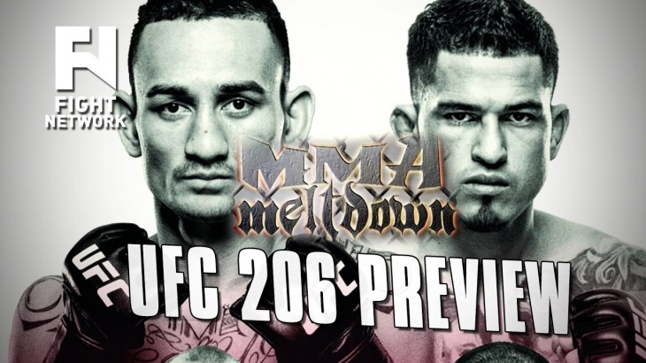 UFC 206 Picks with Gabe Morency & GambLou | MMA Meltdown – Full Show