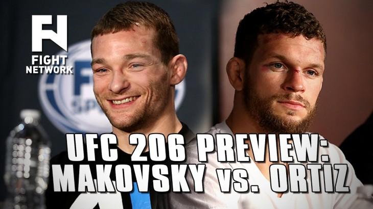 UFC 206: Zach Makovsky vs. Dustin Ortiz Preview