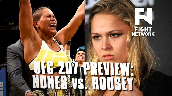 UFC 207: Amanda Nunes vs. Ronda Rousey Preview – Media Presence