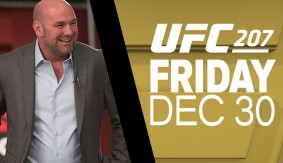 UFC 207: Dana White Media Day Scrum