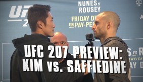 UFC 207: Dong Hyun Kim vs. Tarec Saffiedine Preview