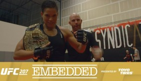 UFC 207 Embedded: Vlog Series Episode 1 – Happy Wives, Happy Lives