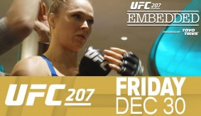 UFC 207 Embedded: Vlog Series Episode 2 – Christmas Day