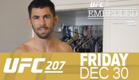 "UFC 207 Embedded: Vlog Series Episode 3 – ""Put a Halo Right Here"""