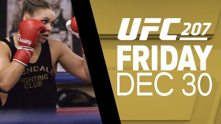 UFC 207: Joe Rogan Previews Amanda Nunes vs. Ronda Rousey