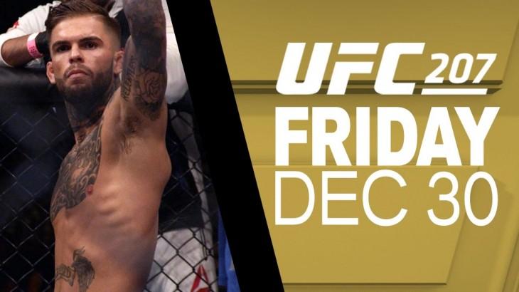 UFC 207: Joe Rogan Previews Dominick Cruz vs. Cody Garbrandt