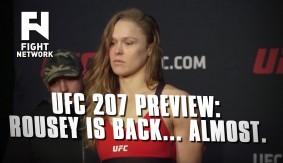 UFC 207: Ronda Rousey Fight Week Process with John Ramdeen & Robin Black