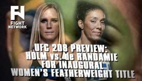 UFC 208: Holm vs. de Randamie for Inaugural Women's FW Title; Where's Cyborg?