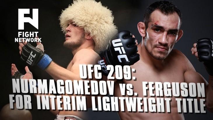 UFC 209: Khabib Nurmagomedov vs. Tony Ferguson In Works for Interim Lightweight Title